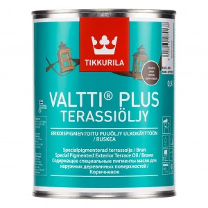 Tikkurila Valtti Plus Terrace Oil 0,9l kolor CZARNY