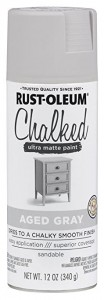 Farba kredowa do mebli Chalked Ultra Matte Rustoleum  kolor AGED GRAY Spray 340g